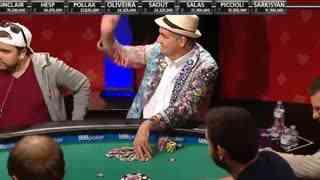64岁大爷参加扑克大赛赢六百多万 此前最多只赌几十块钱