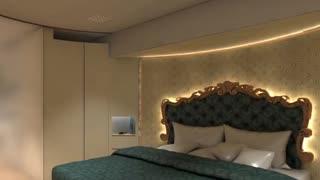 世界豪华房车最高12米 内部装饰豪华售价1545万