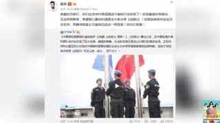 中国维和警察部队喊话看《战狼2》吴京:尽快满足
