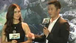 《战狼2》女主为何不选内陆女星 吴京:几乎都用替身 吻戏也替身
