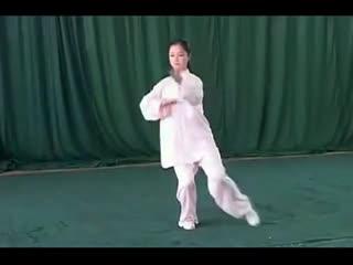 太极拳动作视频全套吴阿敏48式太极拳第一段铅坠的绑法图解图片