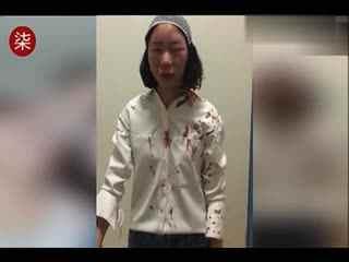 女游客自曝在昆明街头被打头缝6针 官方介入调查