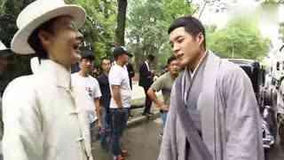《无心法师2》韩东君陈瑶片场互挖鼻孔!一秒变幼稚儿童