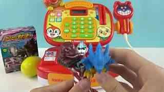 奥特曼面包超人超市奇趣蛋玩具
