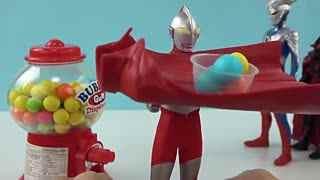 奥特曼迷你糖果机玩具