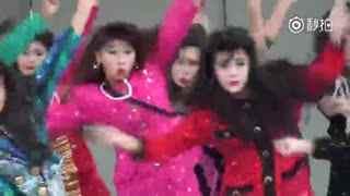 最近大热的一只舞蹈 80年代即视感