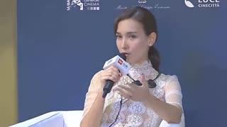 《战狼2》卢靖姗自曝曾遇潜规则_直言圈子肮脏