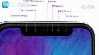 iPhone X从一百万张脸中认出你的肥脸