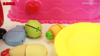 小猪佩奇变色厨房玩具过家家亲子游戏