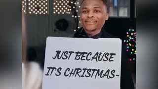 真爱至上!恶搞威少圣诞夜告白KD:我需要你回来