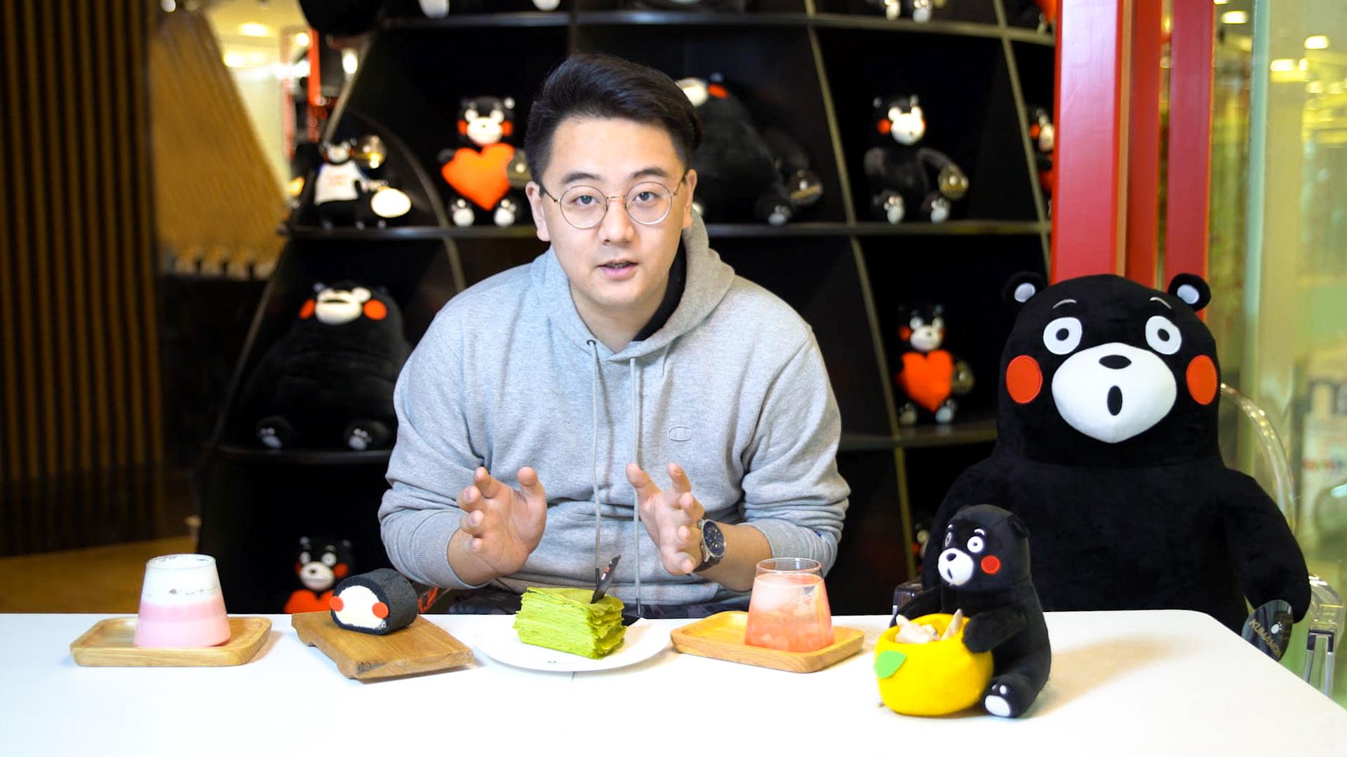【魔力美食】探秘北京熊本熊正版咖啡店