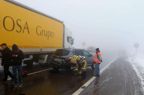 西班牙严重车祸
