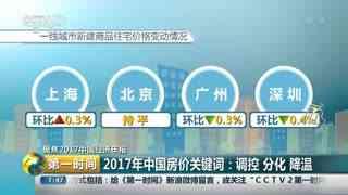 2017年中国房价关键词:调控 分化 降温