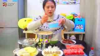 【一起来吃吧】尬吃冬阴功火锅,不一样的火锅底料