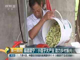 福建建宁:小莲子大产业 助力乡村振兴