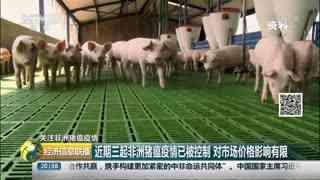 农业农村部:正调查8月三起非洲猪瘟疫情有无联系