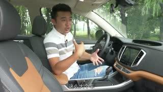 【旭叨车】全面升级换装1.4T 旭子体验吉利新远景SUV