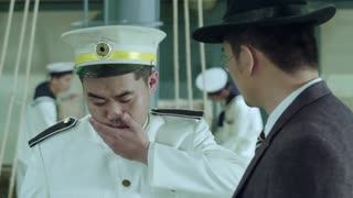《喋血长江》青田跟小寒在船上相遇,非常高兴