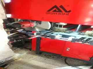 冲孔切割一体机,冲不锈钢的管材