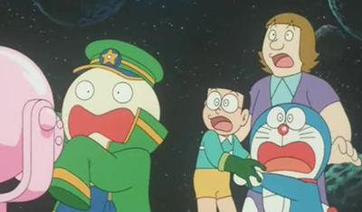 哆啦A梦-大雄和银河超特快列车