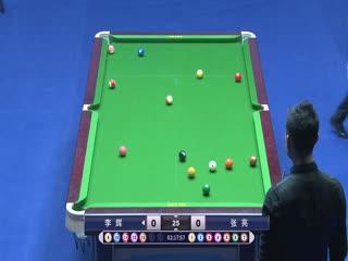 乔氏杯第六届中式八球国际大师赛(中国区决赛)李辉VS张亮