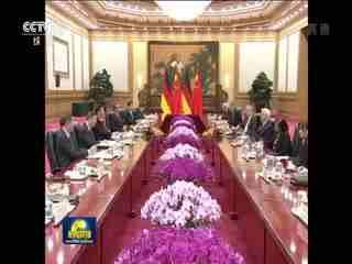 习近平同德国总统举行会谈