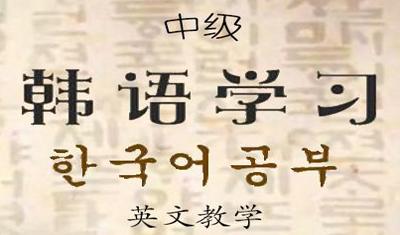 中级韩语学习-纯英文教学