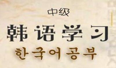 中国人学韩语中级
