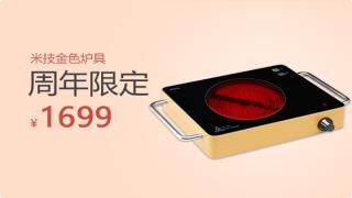 313096-米技金色炉具套组(周年庆新品)