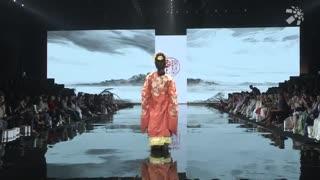 2019SS杭州时尚周:华裳九州国风动起来-2018华裳秀典国风时装秀 下