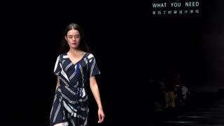 2019SS杭州时尚周:what you need——2018年度圣玛丁时装周班设计作品发布