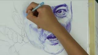 蔡叔叔讲画之圆珠笔和水彩画 第10集