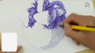 蔡叔叔讲画之圆珠笔和水彩画 第9集