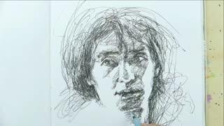 蔡叔叔讲画之圆珠笔和水彩画 第2集