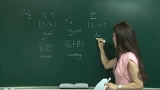 入门级韩语学习-纯英文教学  第2集