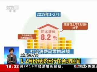 国家统计局:1-2月份经济运行在合理区间