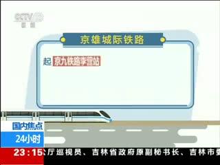 京雄城际铁路北京段开始全线铺轨