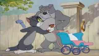 《猫和老鼠》杰瑞有了大狗当保镖,只要一声口哨,汤姆就遭殃