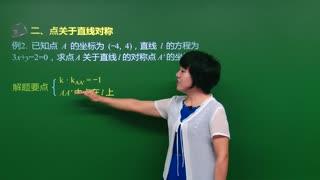 高中数学直线与方程  第10集