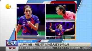 布达佩斯世乒赛女单决赛:刘诗雯夺冠泪洒赛场