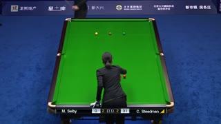 中国公开赛塞尔比vs斯特德曼2(中文解说)
