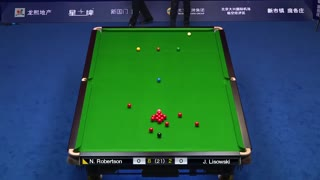 中国公开赛决赛 尼尔·罗伯逊vs利索夫斯基2(中文解说)