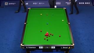 中国公开赛半决赛 尼尔·罗伯逊vs卢卡·布雷切尔1(中文解说)
