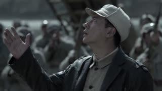《黄河在咆哮》日军飞机轰炸黄河,八路军团长制定反击计策,机枪扫射飞机