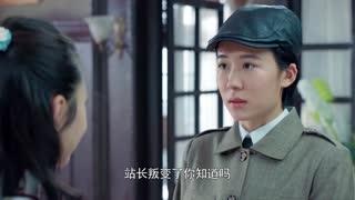 《小楼又东风》被通缉特工找到昔日战友,告知她叛徒的真相,女孩感到难以置信
