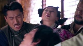 《笑红颜》当家人以家法惩罚男子,男子被处以钉刺惩罚