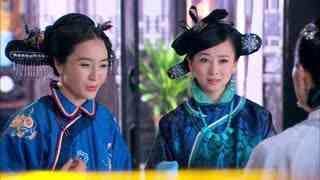 《笑红颜》姐妹二人贿赂三太太,想对五姨太实行家法,被三太太拒绝