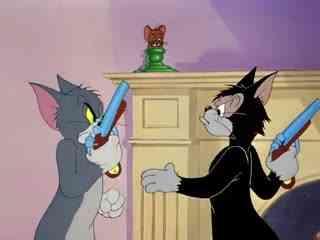 《猫和老鼠》两只傻猫抓住了小老鼠,下一秒居然两只傻猫居然这样干