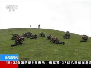 武警:极限体能训练 锻造反恐勇士