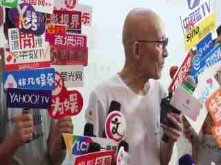 """86岁""""济公""""游本昌现身做公益 诠释""""济公""""新含义"""